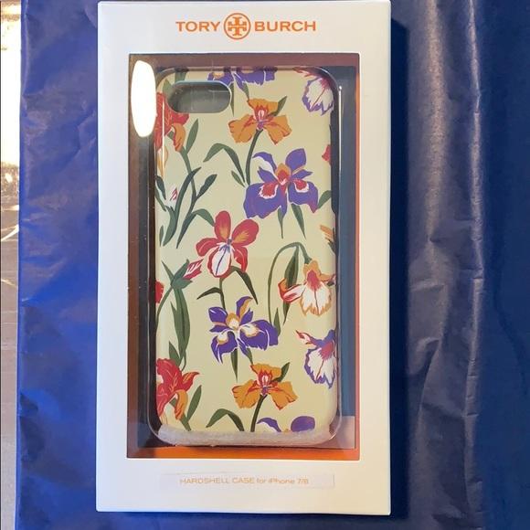pick up 6dbd5 4e4e0 Tory Burch Iris Hardshell Case iPhone 7/8